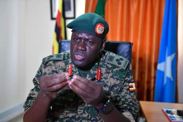 "Loss of Gen Paul Lokech is highly shared and felt in Somalia""LION OF MOGADISHU"""