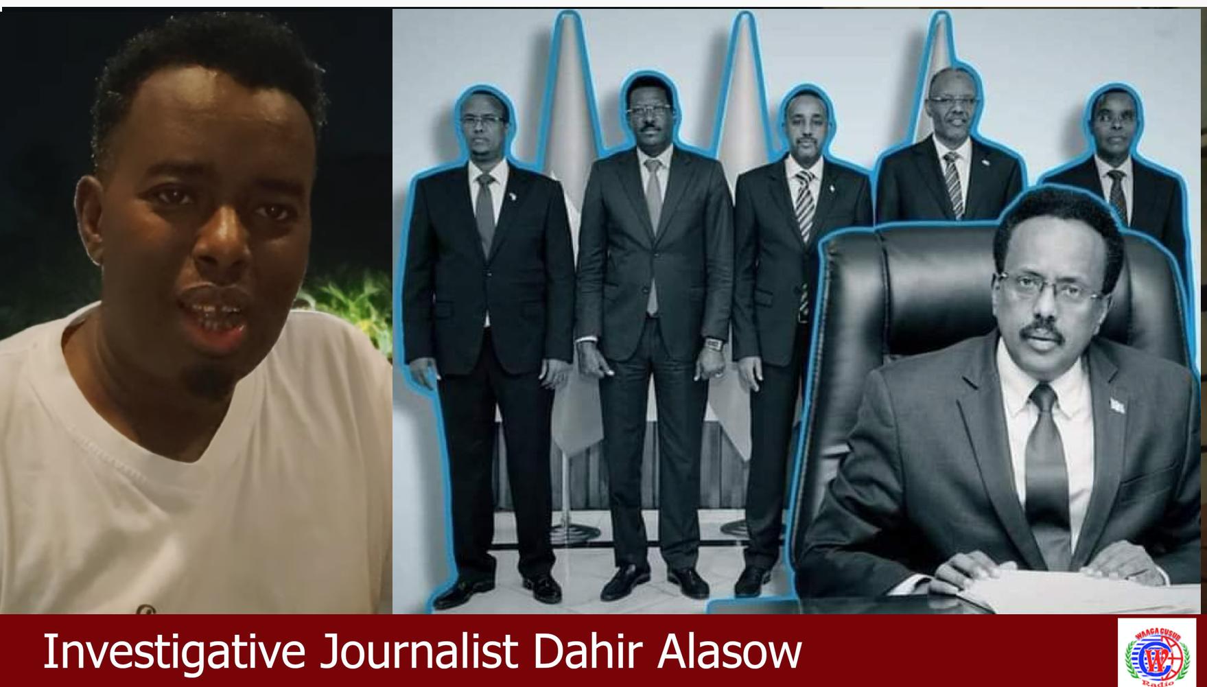 [Daawo] Farmaajo oo bahdilay Qoor Qoor iyo Raisulwasaraha Ethiopia oo xaalad adag galay