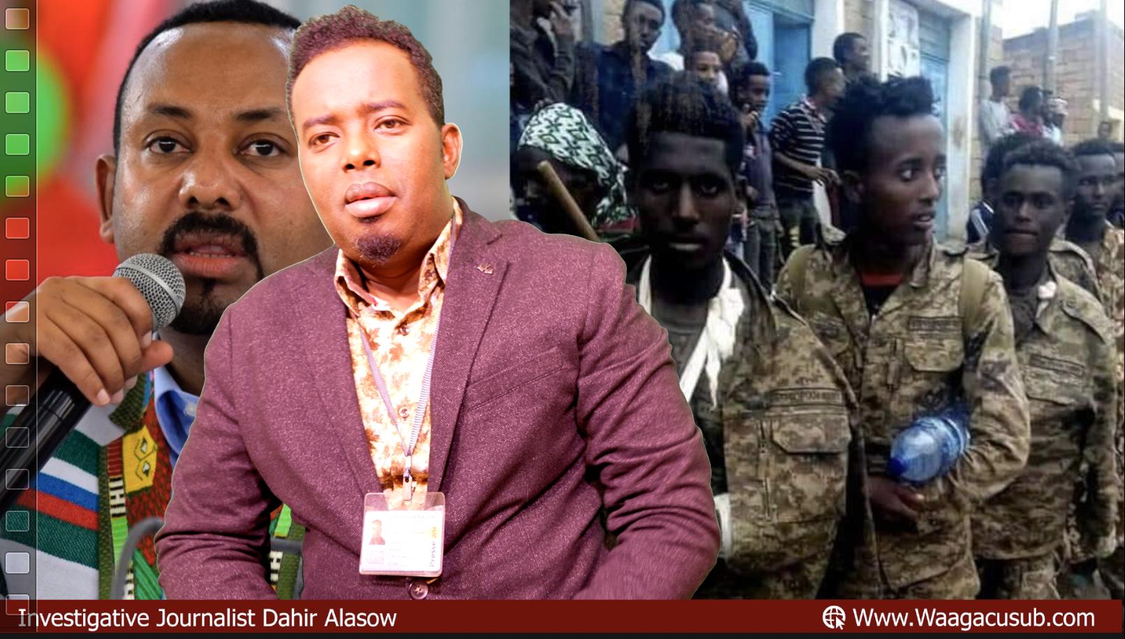 [DAAWO] TPLF Tigray oo soo bandhigtay Maxabiista Ciidankii Somalida ee Muqdisho laga qaaday