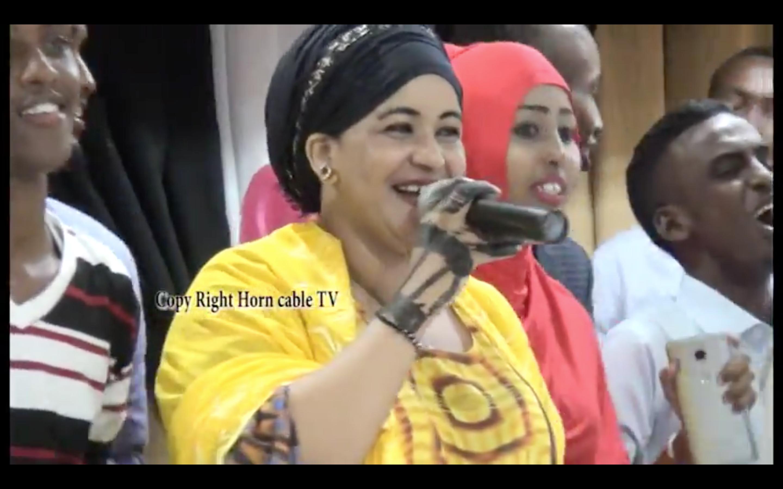[Daawo] Live Horncable Tv oo baahiyay heesta I Miss to Muqdisho iyo wacdarahii masraxiyadda