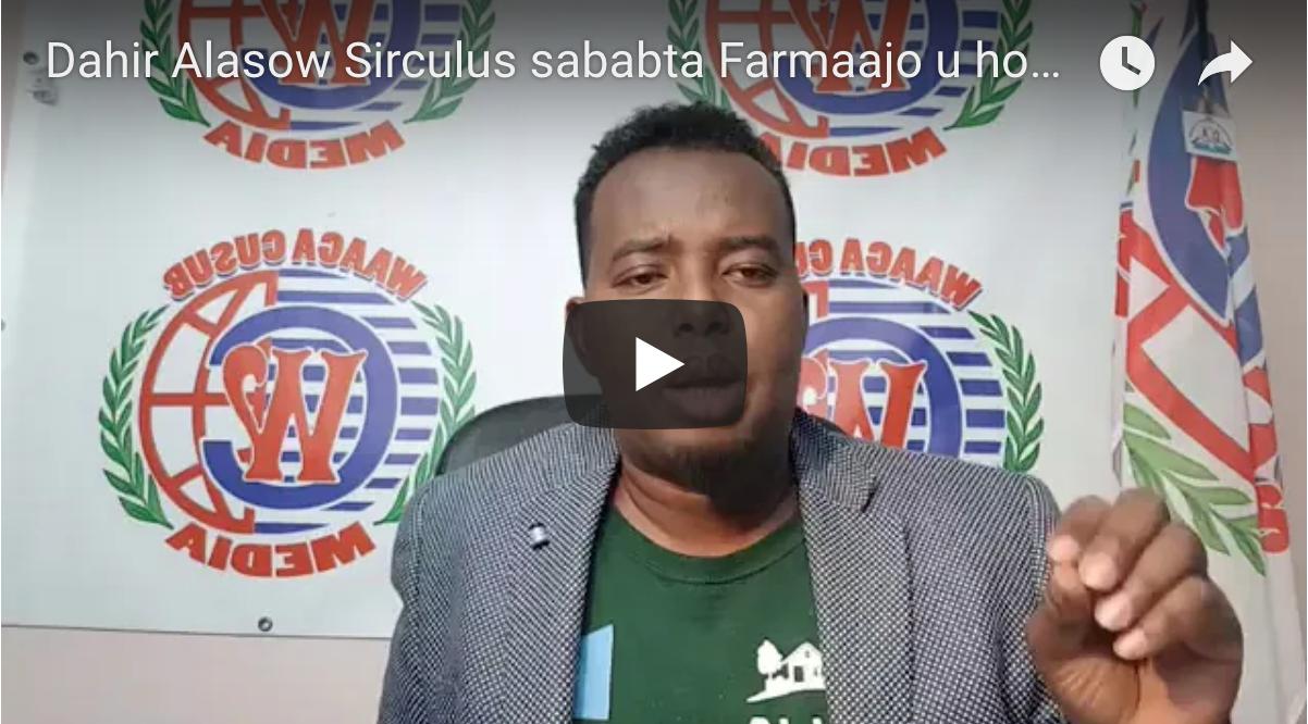 [Daawo Dahir Alasow] Sirculus sababta Farmaajo u hoos tegay Ethiopia