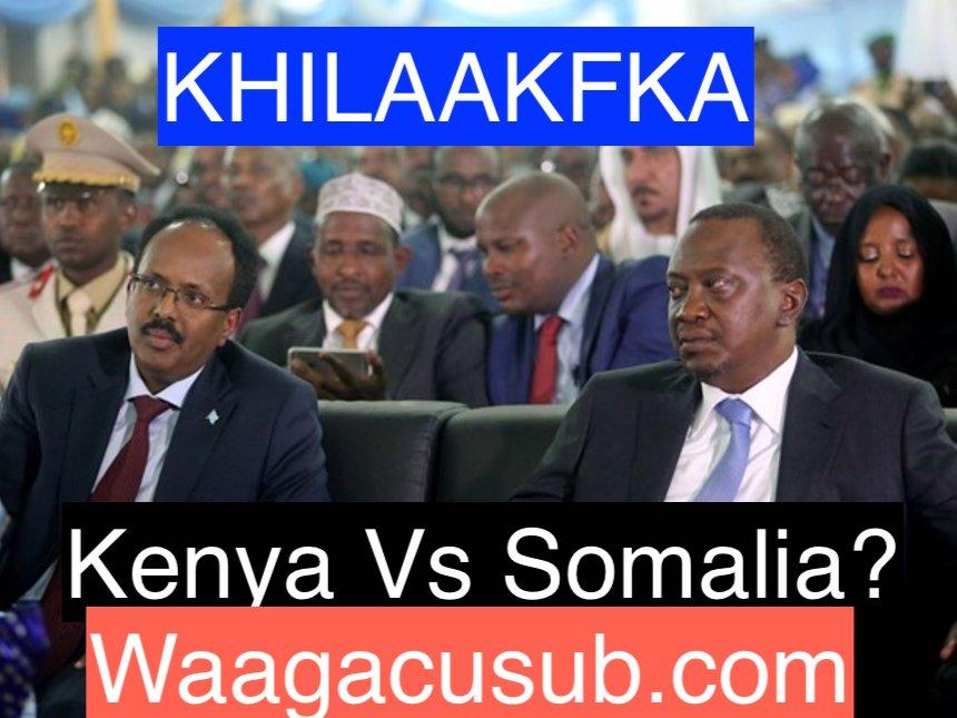 [Topnews:-] Dowladda Somalia oo Kenya u diyaarisay jawaabo adag ?