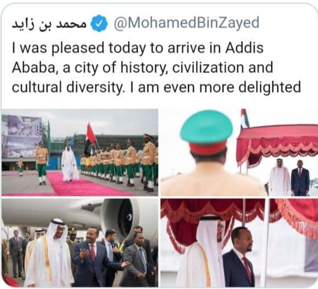 """[Daawo] Amiirka Emirate-ka oo ka degay Ethiopia ? """"sababta Safarkii Abiy Ahmed ee Xamar"""""""