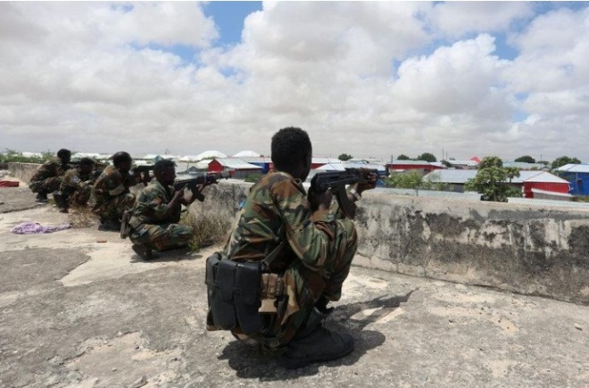 Nine killed in fighting between different branches of Somali government forces: police