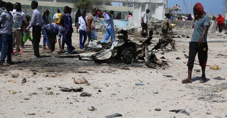 At least 20 killed in separate bombings in Mogadishu