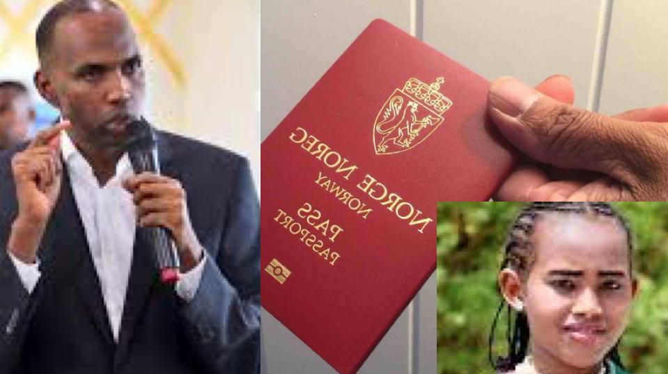 [Daawo] Gabadh weeydiisay Kheyre inuu Passport-ka Norway ka tanaasulaa haddii xalka Somalia sidaas ku jiro laakiin maxaa dhacay ?