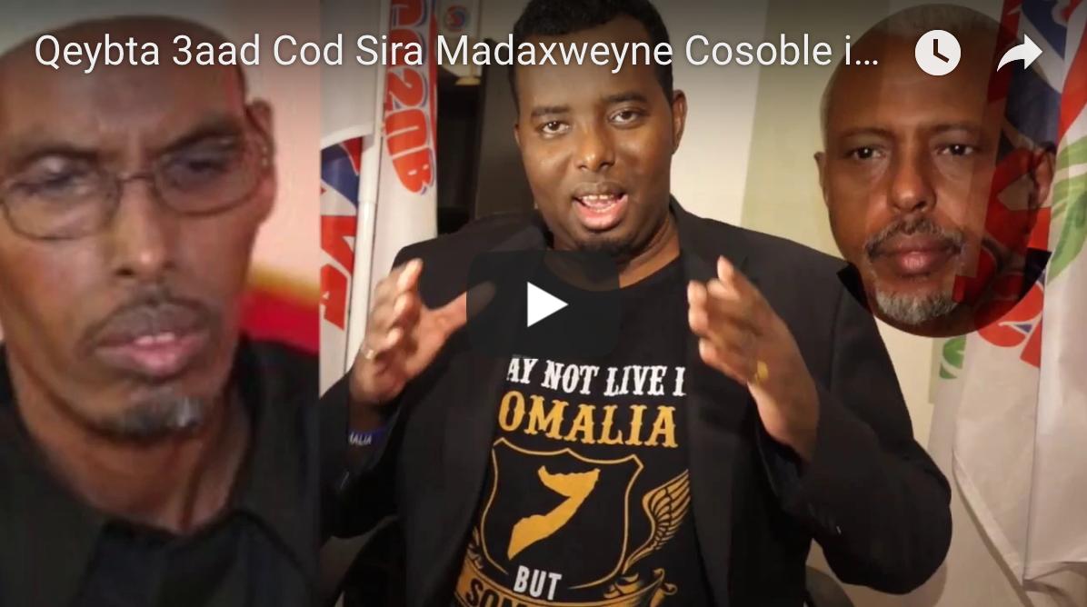 [Daawo Qeybta 3aad Cod Sira] Madaxweyne Cosoble iyo Gudoomiye Barre