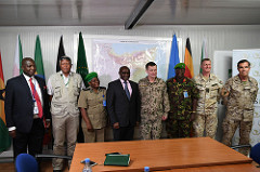 EU military chief holds talks with AMISOM leadership in Somalia