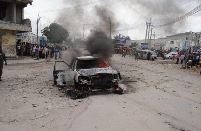 Car bomb attack near intelligence HQs