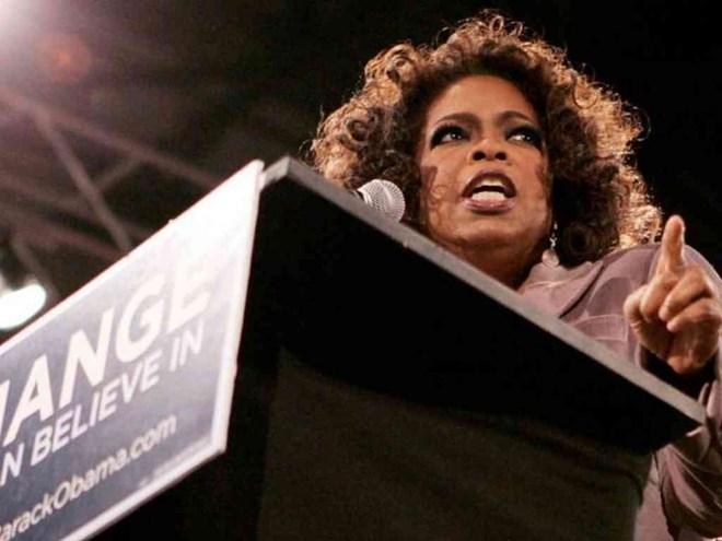 Would America vote Oprah Winfrey for President?