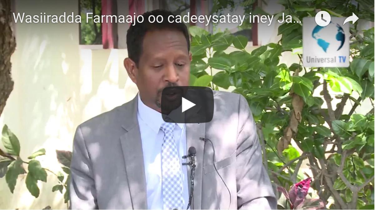 """[Daawo] Golaha Wasiiradda Farmaajo oo Jabhadda ONLF ku sheegay ONLF """"Jaajuusiin Ethiopia"""""""