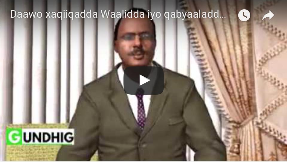 [Daawo] xaqiiqadda Waalidda iyo qabyaaladda Guulwadayaasha Farmaajo