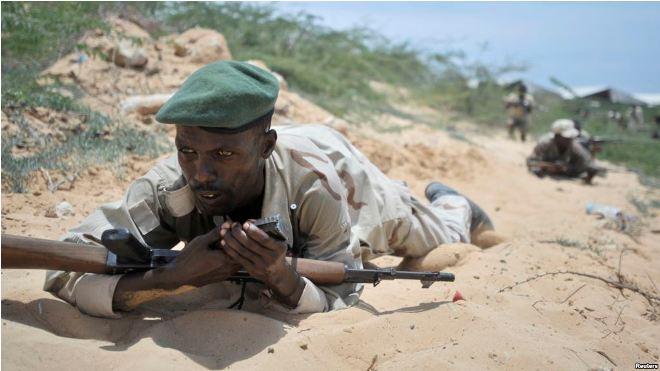 Somali Army Reports Killing 7 al-Shabab Militants