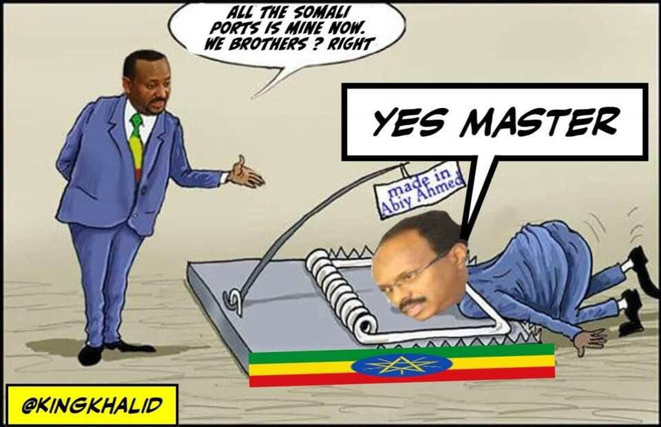 [Daawo Xogtii shalay Dahir Alasow] ku xasuusta muuqaalkaan hoose ee Video-ga. heshiiska Farmaajo la galay Ethiopia ee la qariyay?