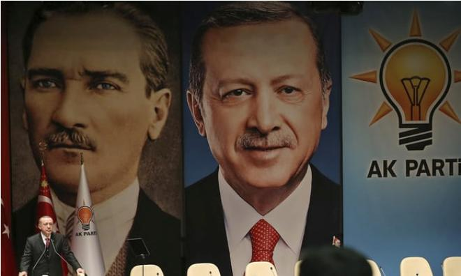 Nato apologises to Turkey after Erdogan and Ataturk appear on 'enemy chart'
