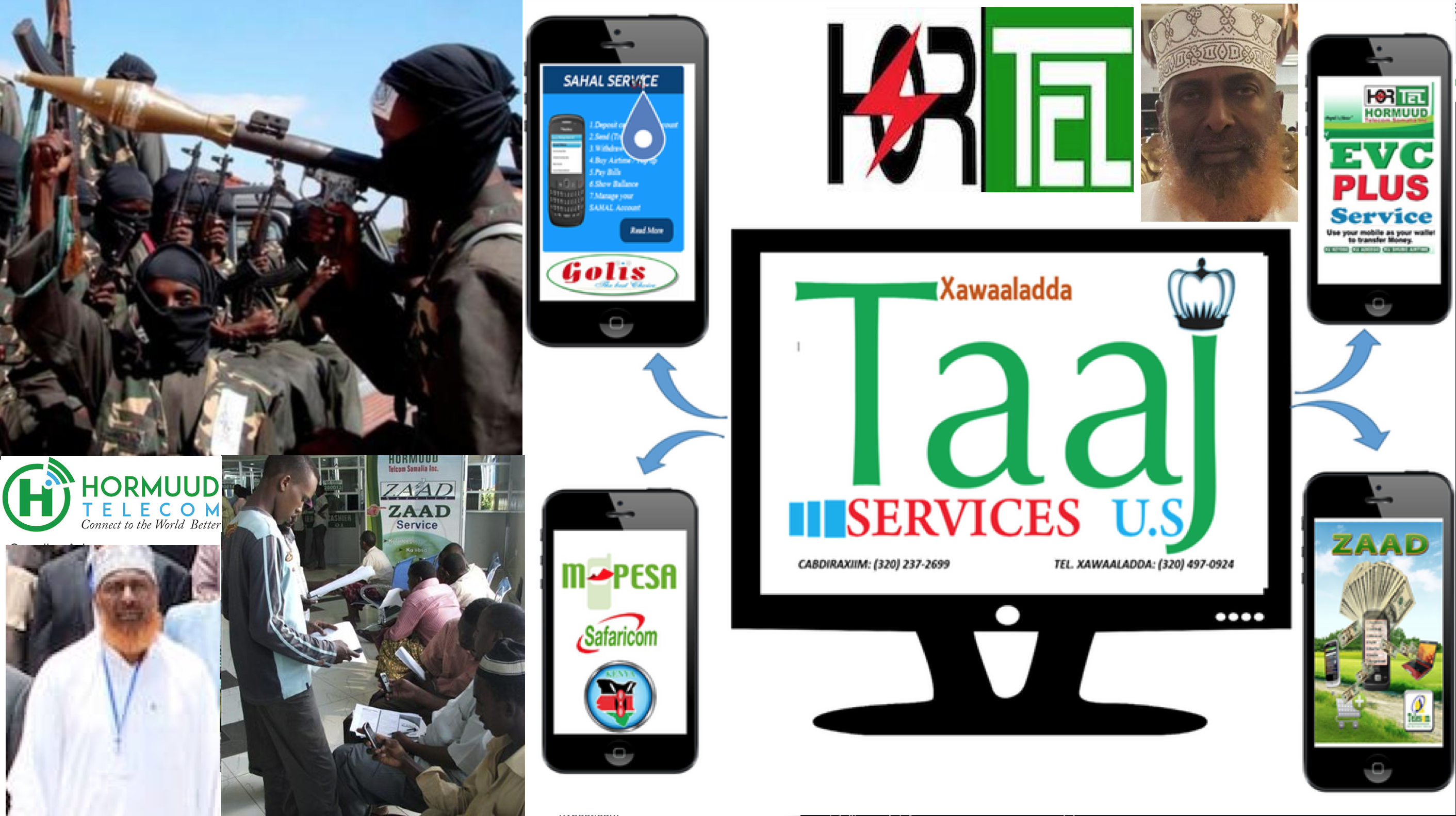 Somalia Mobile money: A major source of funding for Al-Shabaab-Hormuud Telecom