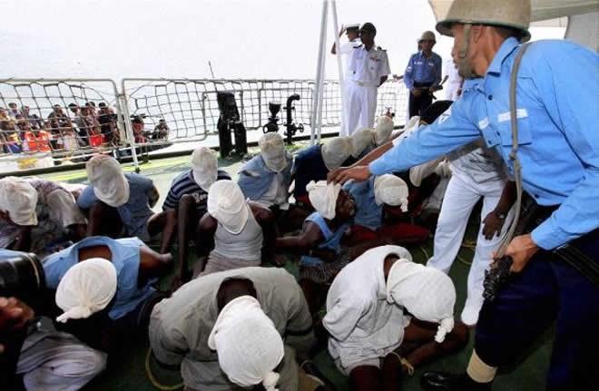 Somali 'pirate' dies in hospital