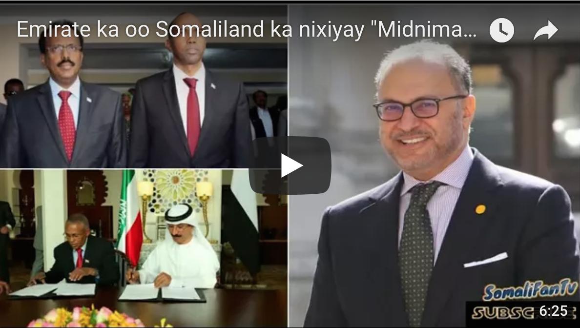 """[Daawo] Emirate ka oo Somaliland ka nixiyay """"Midnimada Somalia waa muqadas"""""""