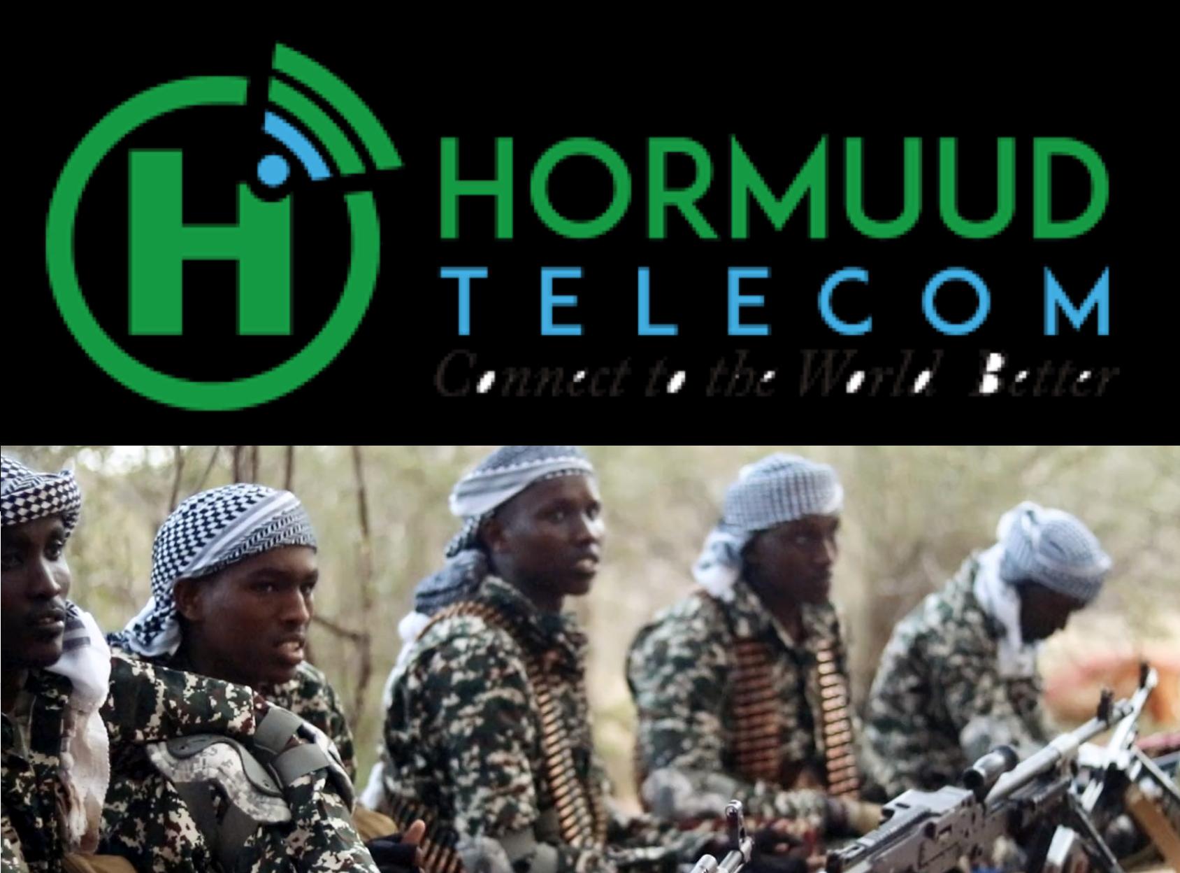 SOMALIA:Al-Shabaab Main Sources of Funding -Hormuud telecom