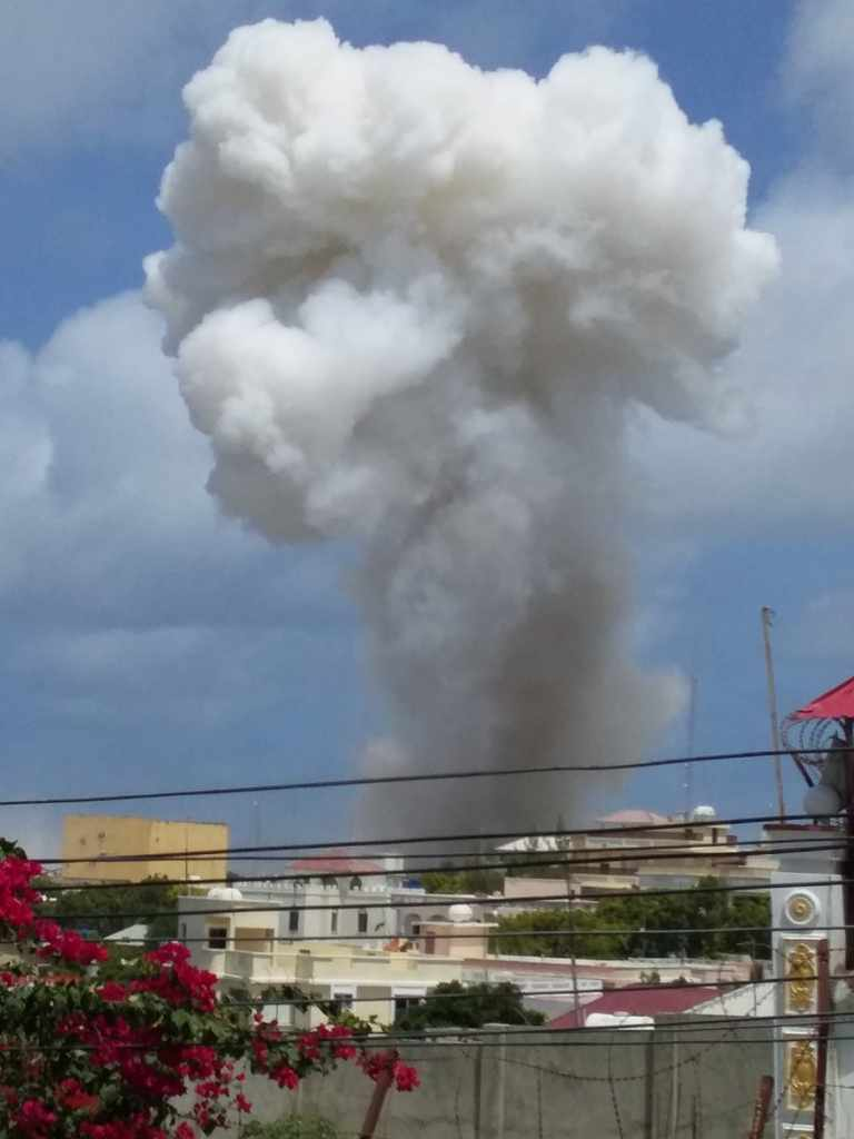 Deaths As Mogadishu Hit By Twin Explosions