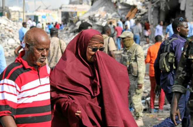AU calls on world for help, as death toll in Somali blast soars