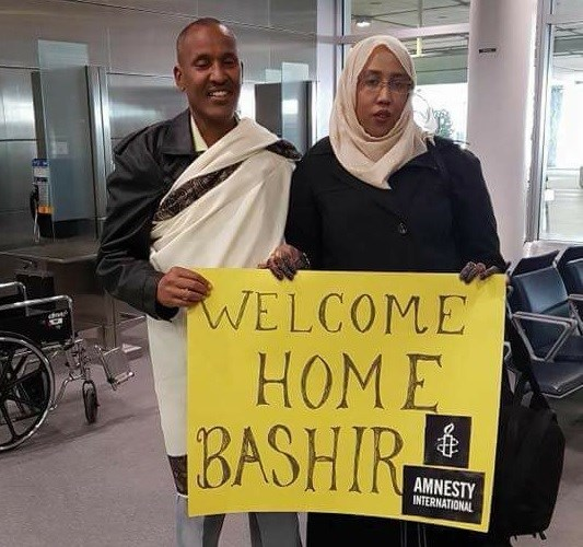 Bashir Makhtal back in Canada after being imprisoned in Ethiopia for 11 years