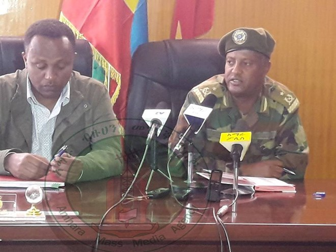 Ethiopian Army Takes Over Western, Central Gondar Security
