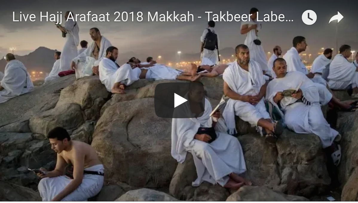 [Daawo Live] Malaayiin taagan buurta Carafo #Hajj2018