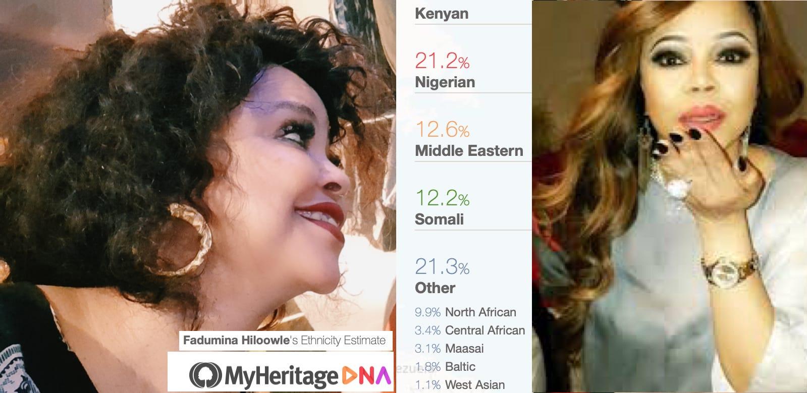 DAAWO Fanaanad Somalia oo noqotay Negerian iyo Kenyan asal ahaan DNA laga qaaday kadib