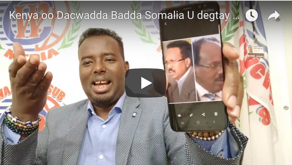 [Daawo] bidaartii Farmaajo iyo Kheyre oo Kenya la saftay By Dahir Alasow