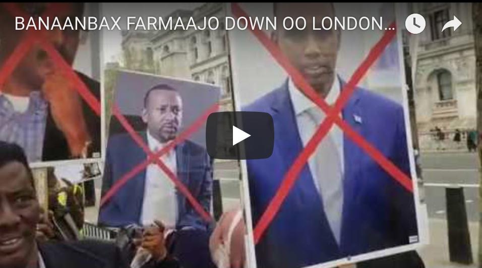 [Daawo] bananabixii ugu weeynaa oo Farmaajo lagu cambaareeyay iyo Tv-yada London oo baahiyay