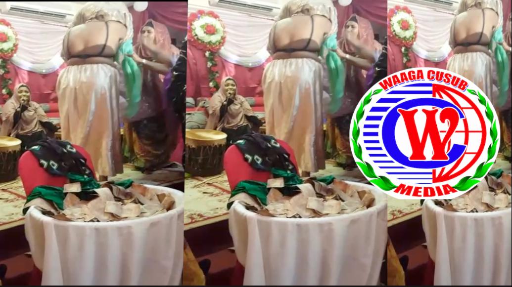 [Daawo] Maryan Jaceyl oo is qaawisay markii Kheyre iyoMurusade la amaanay qabyaalad darteed