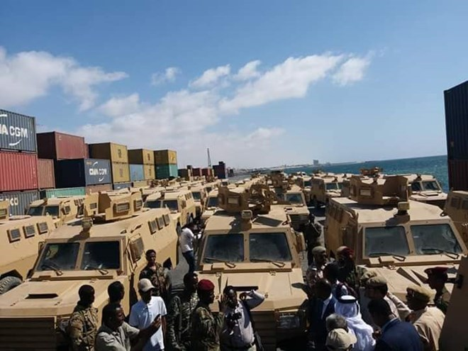 Qatar donates 68 armored vehicles to Somalia as UAE's role becomes strained