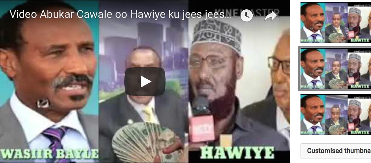 [Daawo] Abukar Cawale oo Hawiye ku jees jeesay - Canshuurta Xamar Vs Bosaso