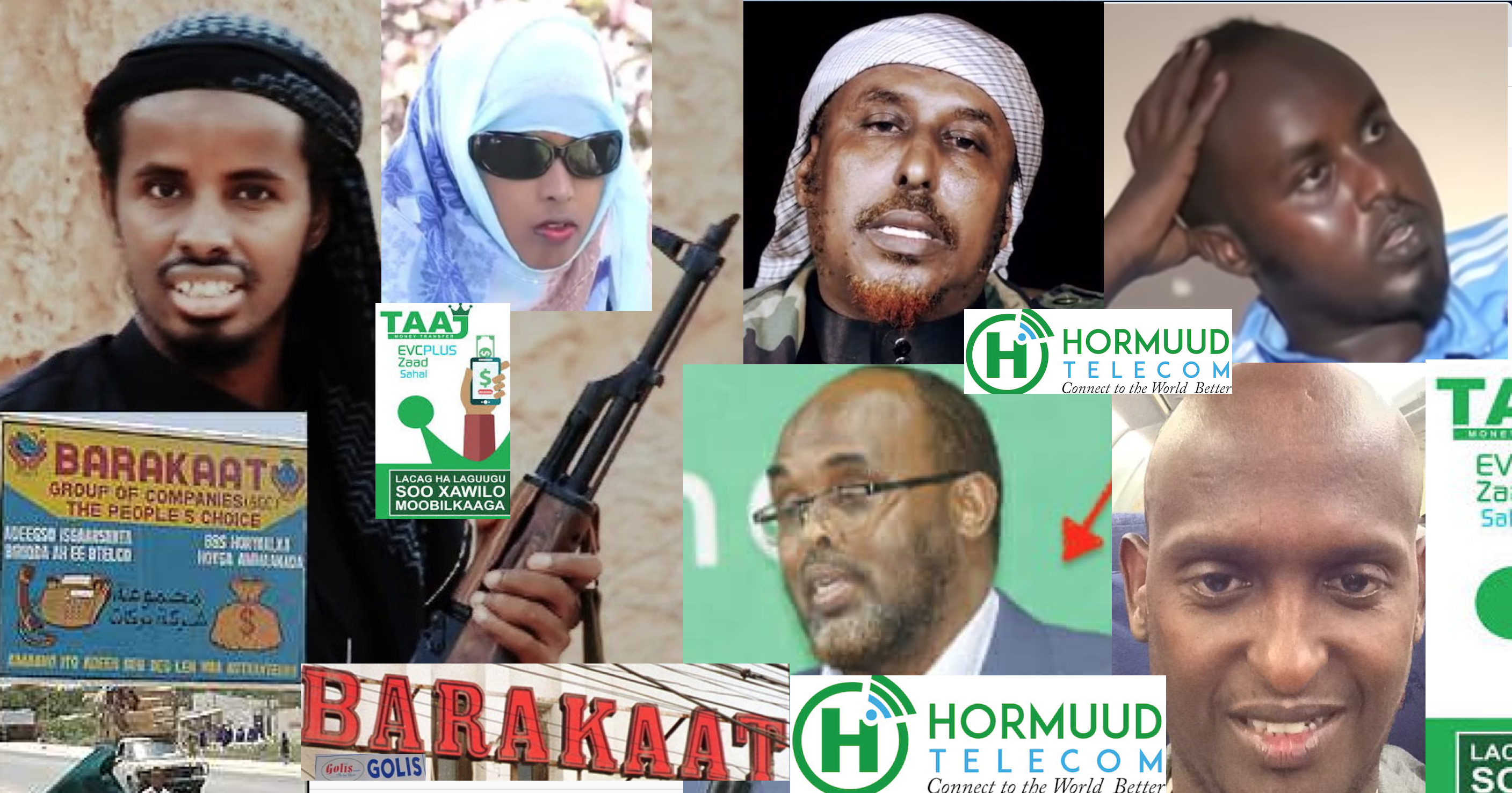 Saraakiisha sare ee Al-Shabaab iyo kuwa isqarxiya maxeey u wada yihiin maamulkii Al-Barakaat?