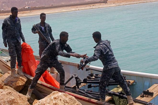 Authorities in Somalia's Puntland region tout capture of weapons-laden boat
