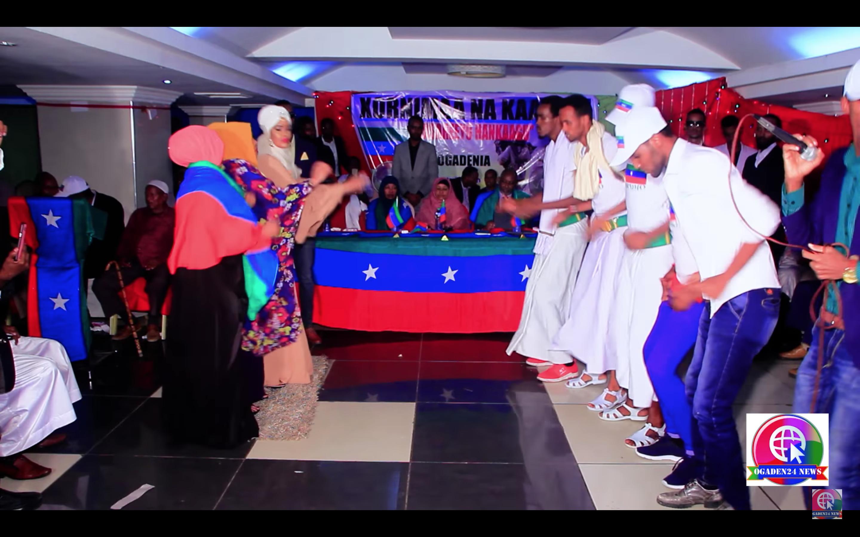 [Daawo] Geesiyadda ONLF oo ku dul dhaanteeyay Cabdi ileey wada hadalkii Nairobi kadib