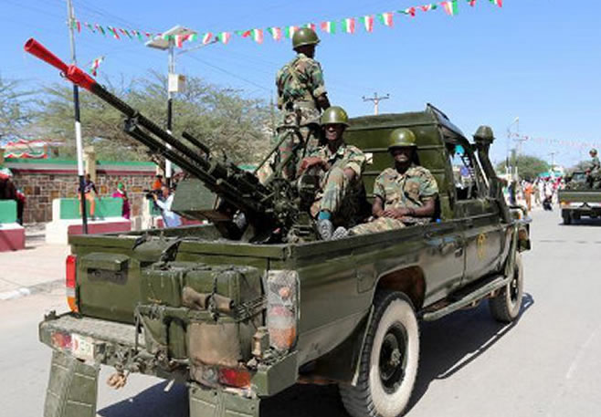 UAE to train Somaliland security forces