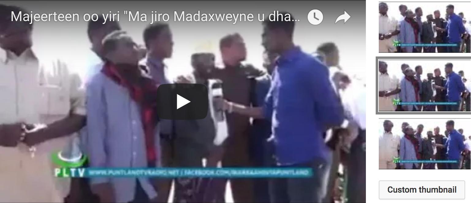 [Daawo] Majeerteenka Garowe  oo sheegay inuusan jirin Madaxweyne u dhaxeeyay Siyad Barre iyo Farmaajo