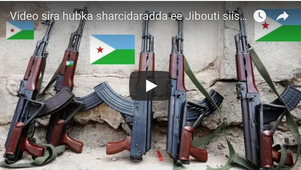 [DAAWO] Video sira hubka sharcidaradda ee Jibouti siiso Shabaab iyo Dowladda