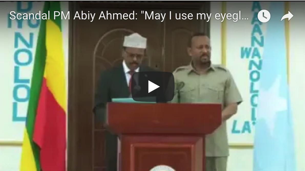 """[Daawo] fadeexadda ugu hadal heeynta badan kulankii Farmaajo iyo Abiy Ahmed """"Sure sure,Ok OK"""""""