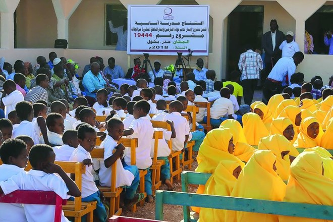 Qatar Charity opens model school in southwestern Somalia