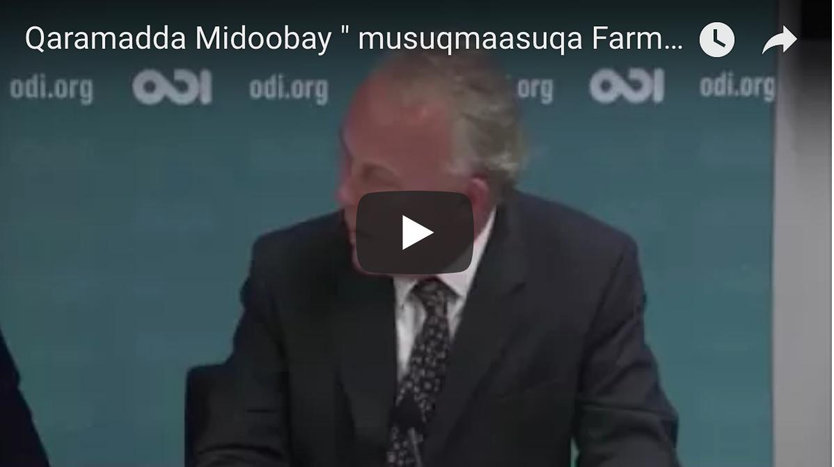 [Daawo] Qaramadda Midoobay oo Farmaajo ku eedeysay inuu Musuqmaasuqa Kheyre raali ka yahay