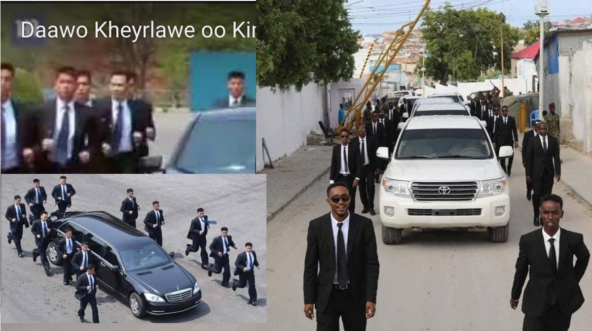 [Daawo Kheyrlawe] oo Kim Jong UN naqshadiisii xaday Stop Copy and Paste