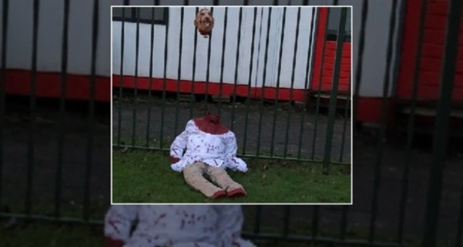 Decapitated doll left in front of Amsterdam mosque in Islamophobic attack