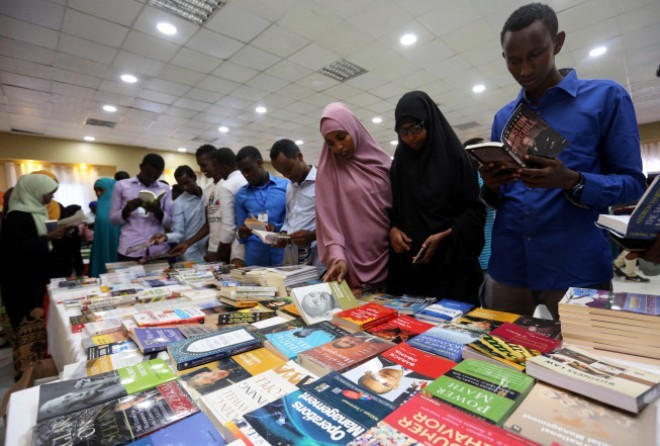 Foreign writers descend on Somalia for book fair