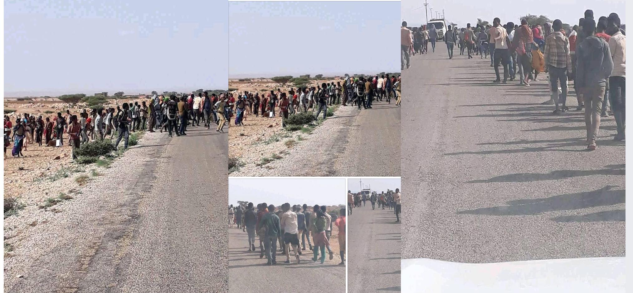 [Daawo] Ra'isulwasaaraha Ethiopia oo shacabkiisa u sheegay iney Somalia u shaqa tegayaan iyo kumanaan Oromo ah oo maanta buuxiyay Puntland