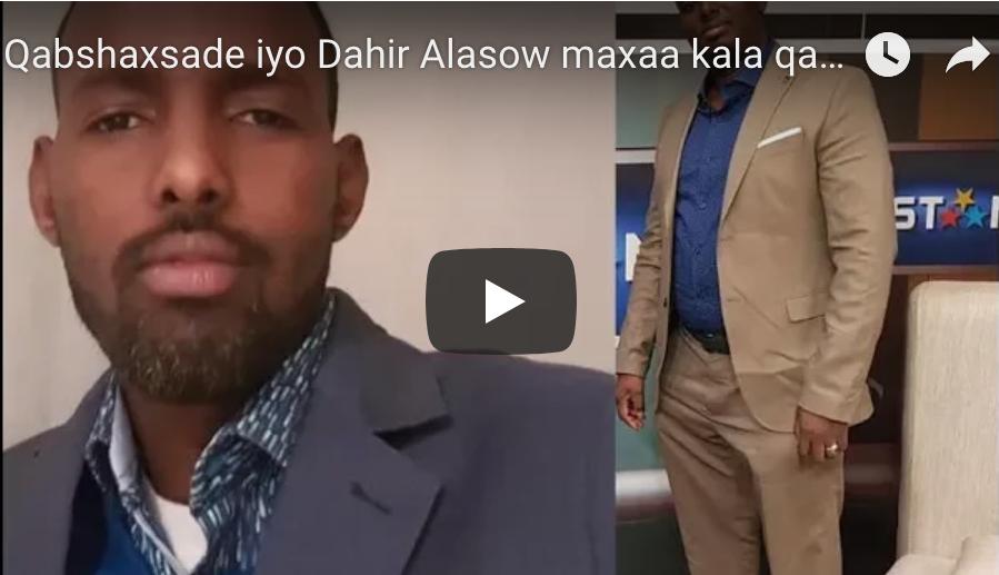 [DAAWO] Qabshaxsade iyo Dahir Alasow maxaa kala qabsaday?