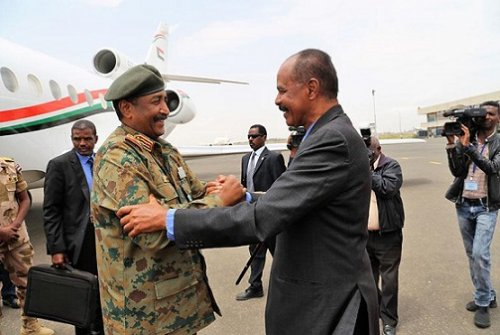 Sudan and Eritrea discuss border resume