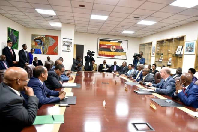 We are not UN employees, Museveni tells AMISOM  Share  Tweet  Email  Share  Share  Share